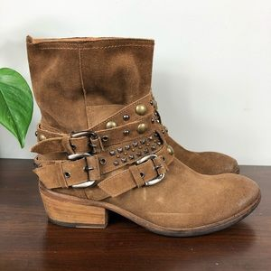 Russell & Bromley Italian Leather Wrap Boot 39